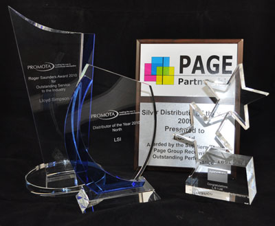 Promota Roger Saunders Award, Promota Distributor Of The Year Award, PAGE Partnership Silver Award, Senator Pens Most Increased Sales Award