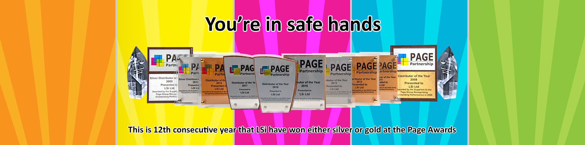 You're in safe hands