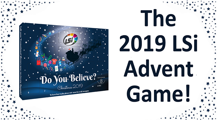 The 2019 LSi Advent Game!
