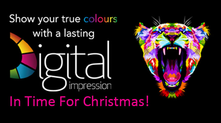 Digital Impression Merchandise In Time For Christmas!