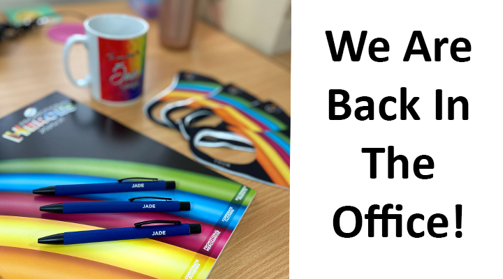 We Are Back In The Office!