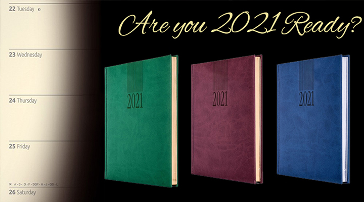 Branded 2020 Diaries Now Available!