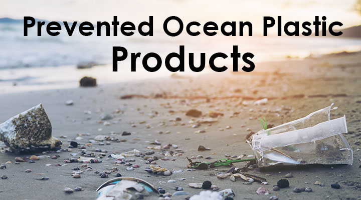 Prevented Ocean Plastic Products