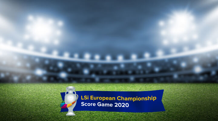 Play along in the LSi European Championship Score Game!