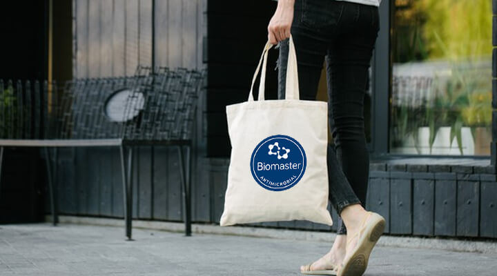 The World's First Biomaster Antimicrobial Cotton Bag and Pouch
