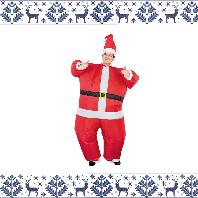 inflatable Santa suit