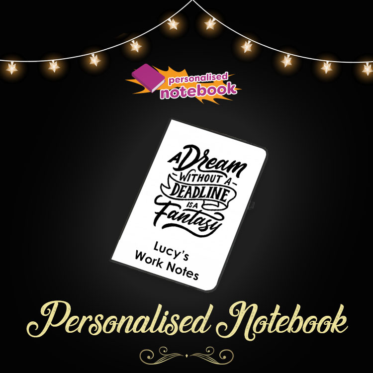 Personalised Notebook Voucher!