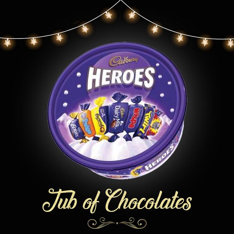 Tub of Chocolates