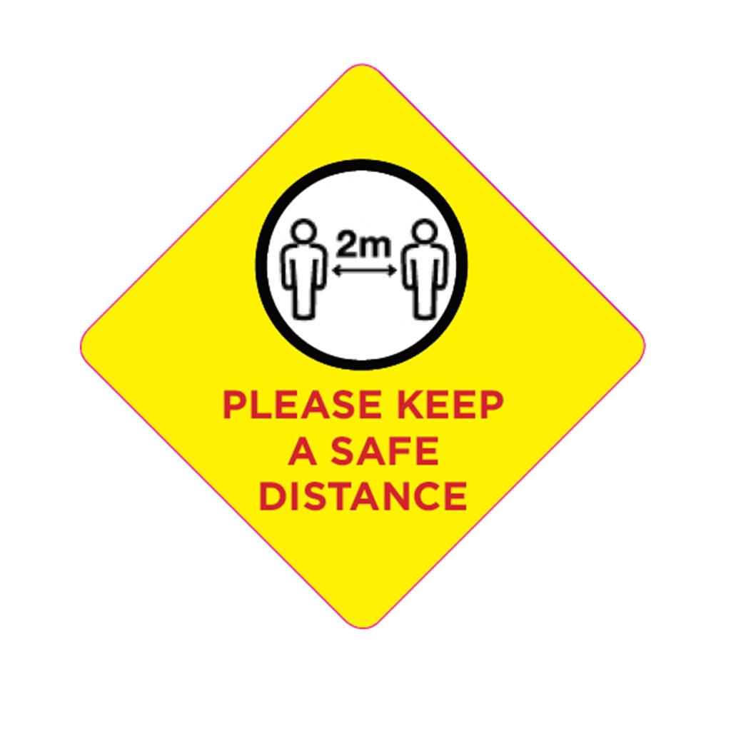 Safe Distancing Badge