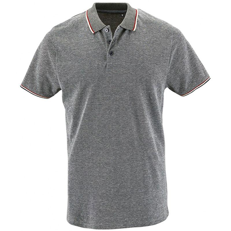 SOL'S Paname Heather Piqué Polo Shirt
