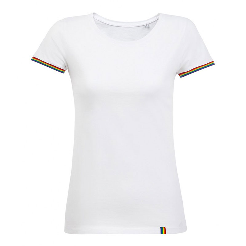 SOL'S Ladies Rainbow T-Shirt