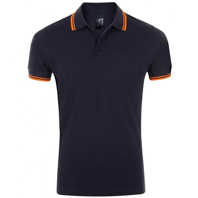 SOL'S Pasadena Tipped Cotton Piqué Polo Shirt