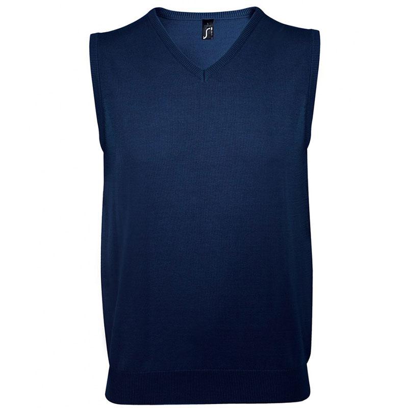 SOL'S Unisex Gentlemen Sleeveless Cotton Acrylic V Neck Sweater
