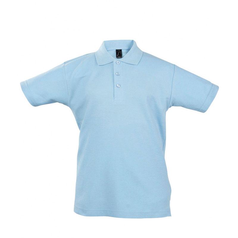 SOL'S Kids Summer II Cotton Piqué Polo Shirt