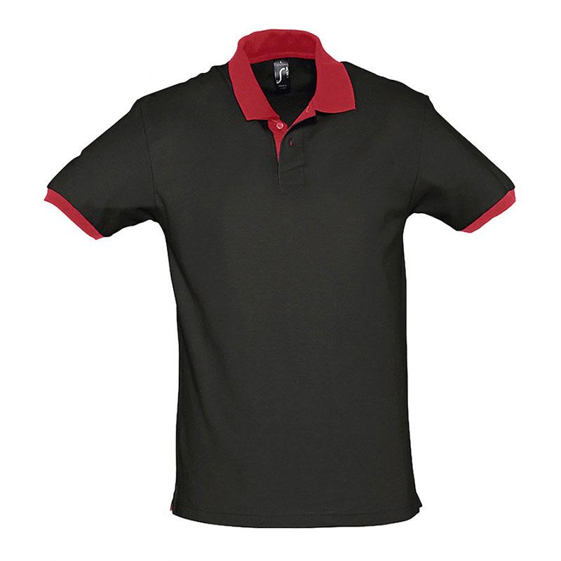 SOL'S Prince Contrast Cotton Piqué Polo Shirt