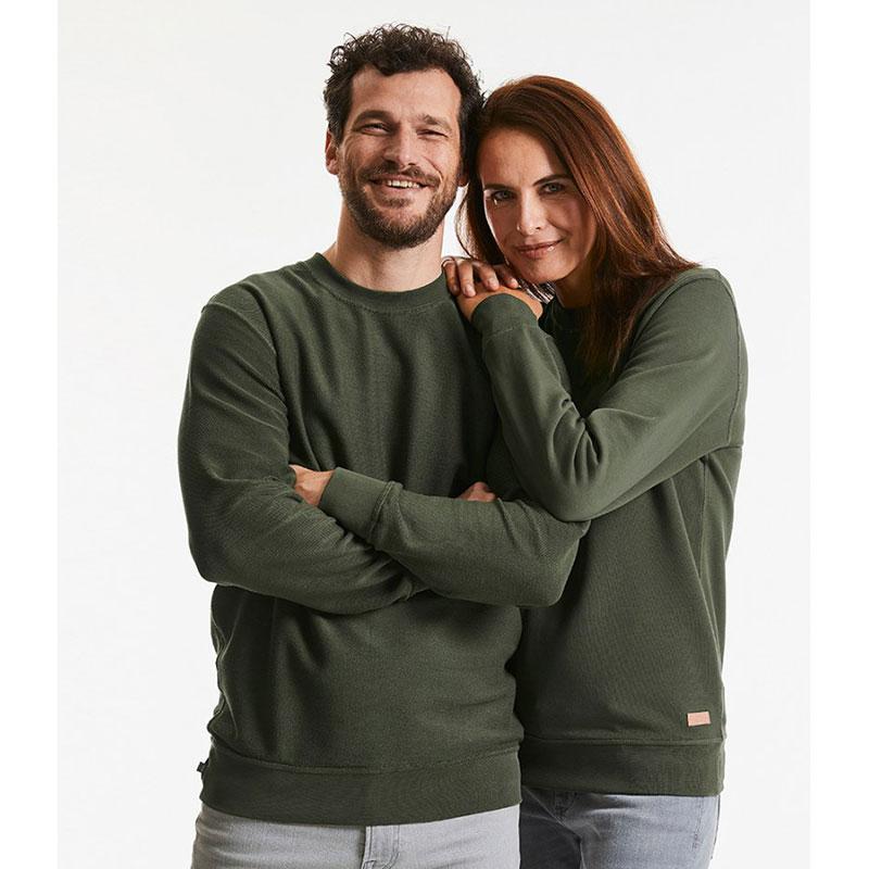 Russell Pure Organic Reversible Sweatshirt