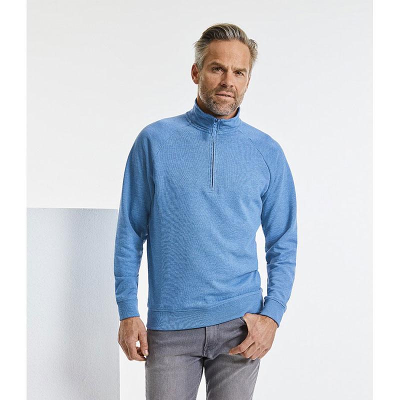Russell HD Zip Neck Sweatshirt