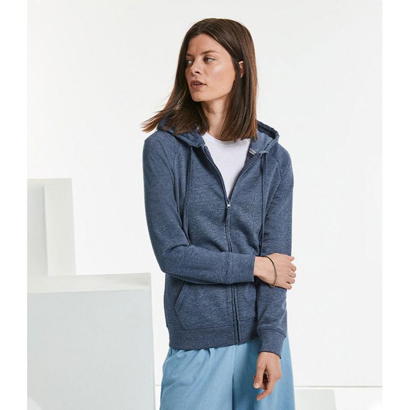 Russell Ladies HD Zip Hooded Sweatshirt