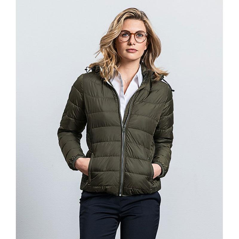Russell Ladies Hooded Nano Padded Jacket