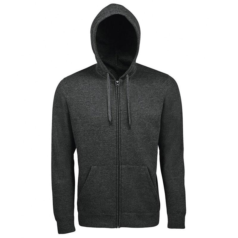 SOL'S Seven Zip Hooded Sweatshirt
