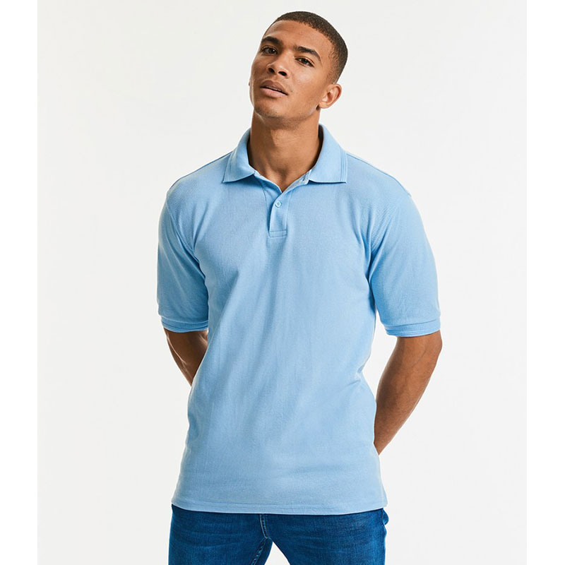 Russell Hardwearing Poly/Cotton Piqué Polo Shirt