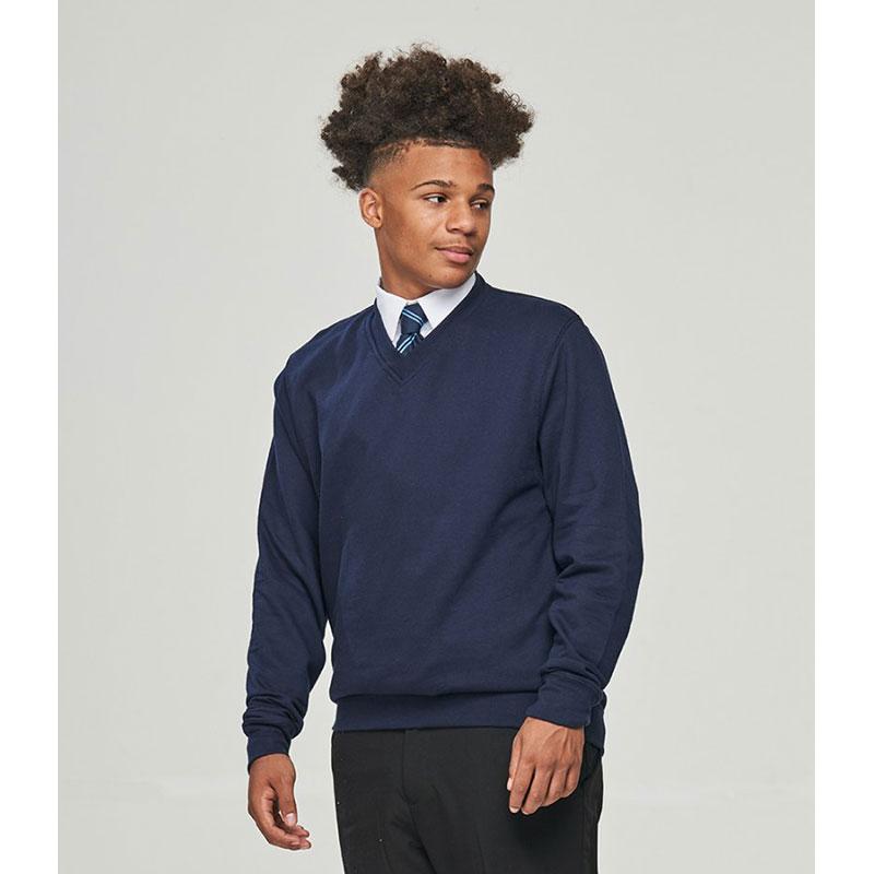 AWDis Academy V Neck Sweatshirt