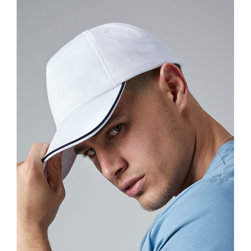 Beechfield Authentic Piped 5 Panel Cap