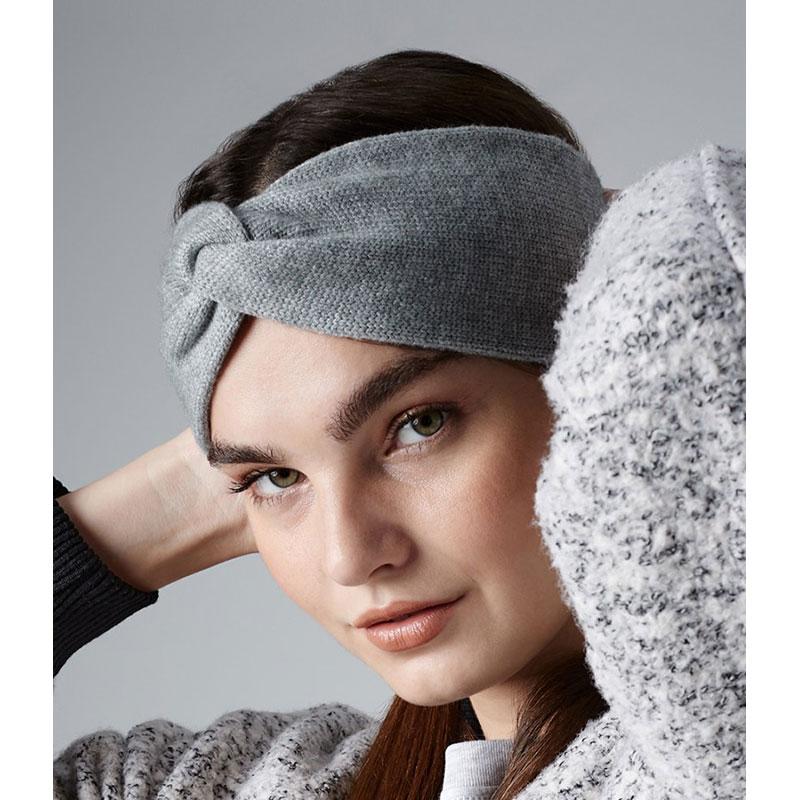 Beechfield Twist Knit Headband
