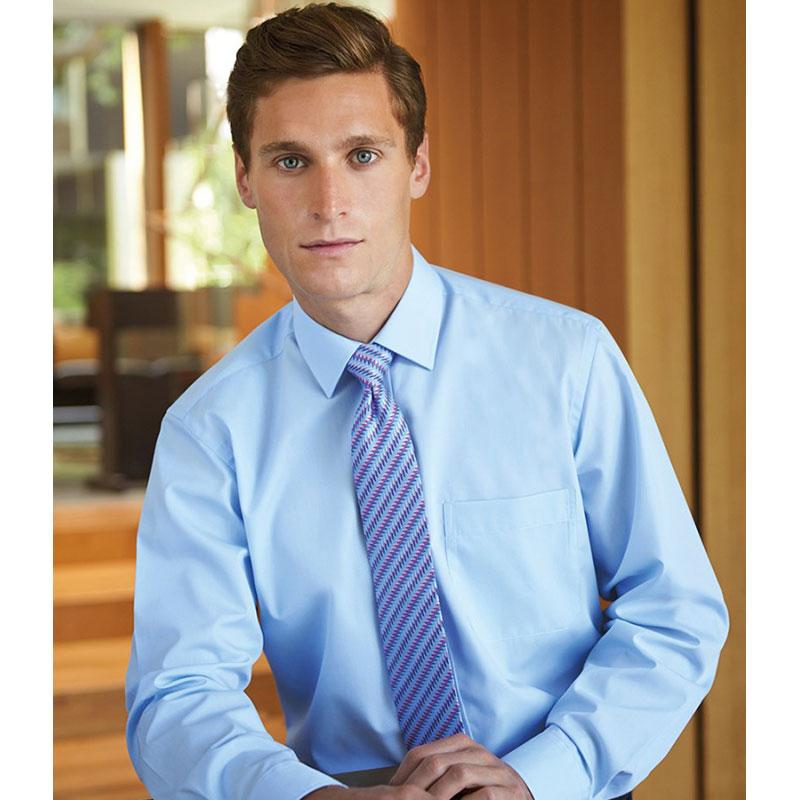 Brook Taverner Rapino Long Sleeve Poplin Shirt