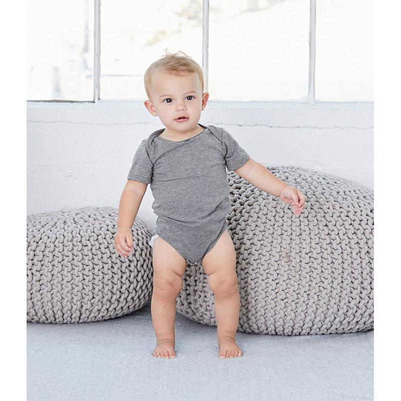 Bella Baby Tri-Blend Short Sleeve Bodysuit