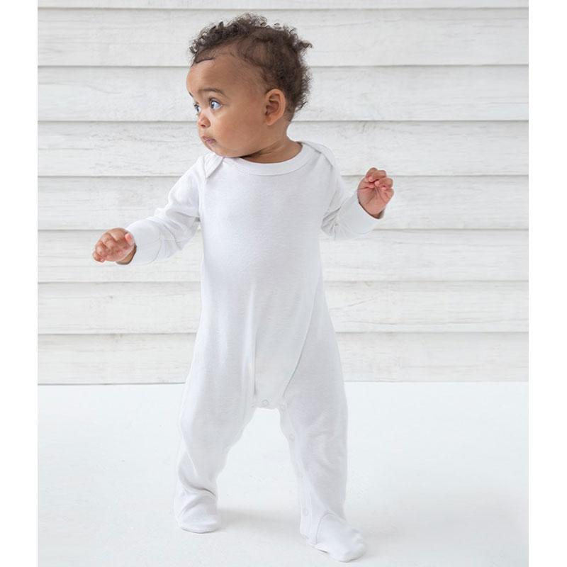BabyBugz Baby Organic Sleepsuit with Mitts