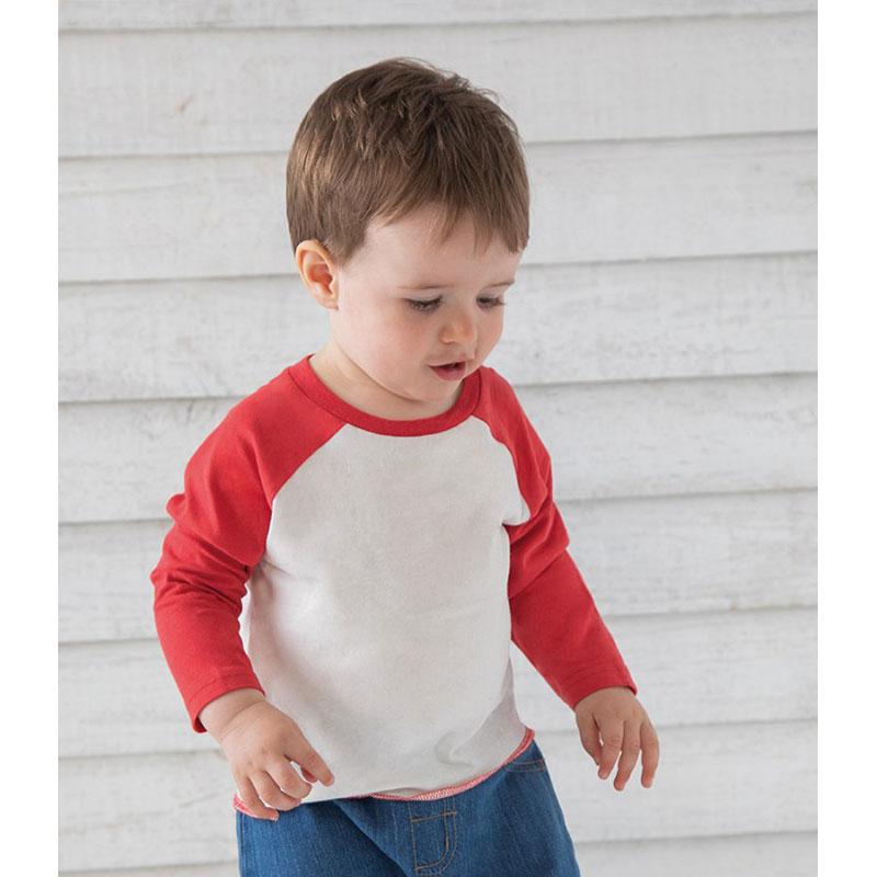 BabyBugz Baby Long Sleeve Baseball T-Shirt
