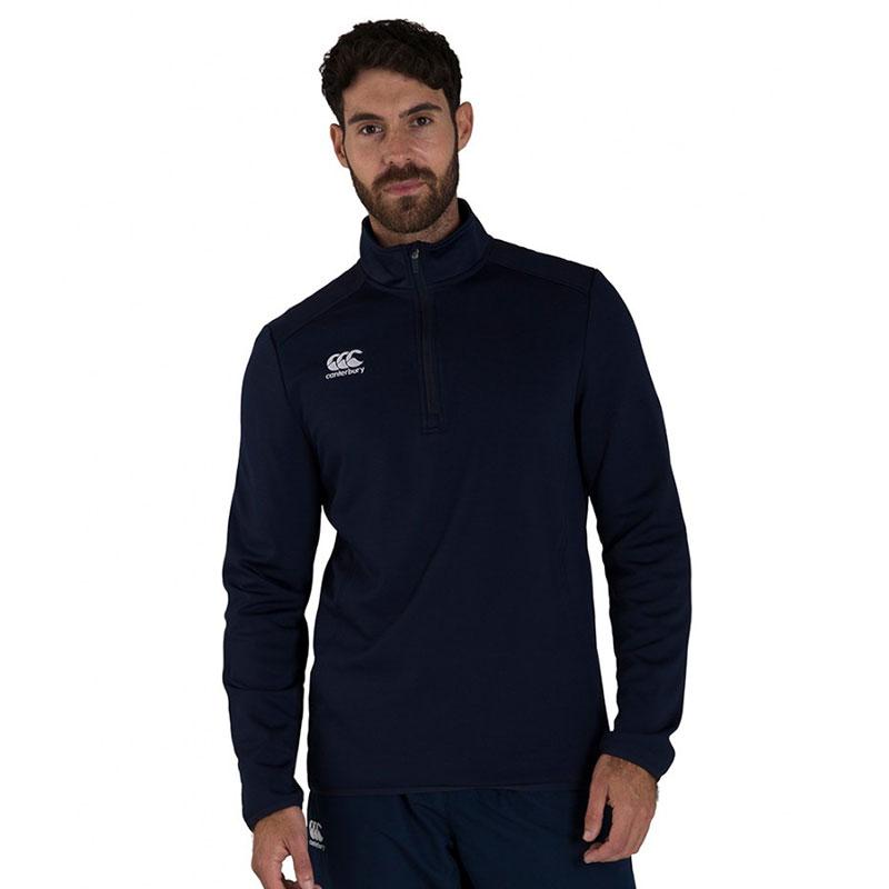 Canterbury Club Zip Neck Mid Layer Training Top