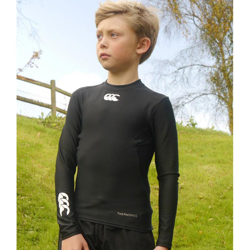 Canterbury Kids ThermoReg Long Sleeve Base Layer