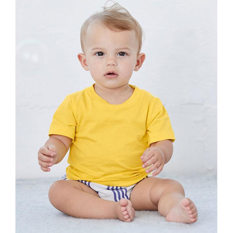 Canvas Baby Crew Neck T-Shirt