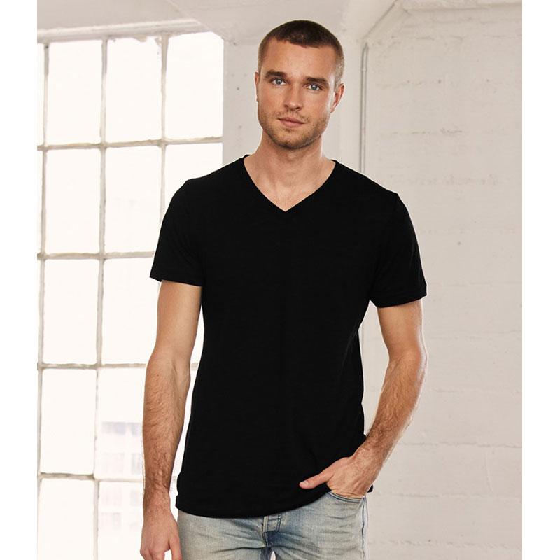 Canvas Unisex Jersey V Neck T-Shirt