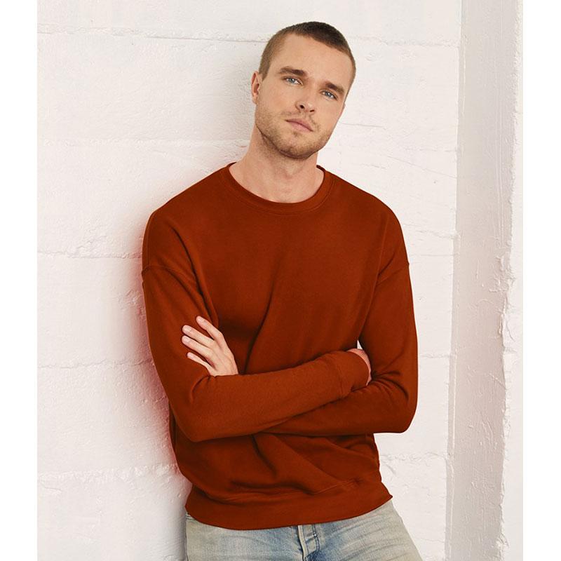 Canvas Unisex Drop Shoulder Sweatshirt