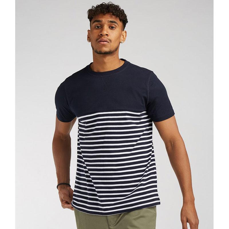 Front Row Unisex Breton Striped T-Shirt