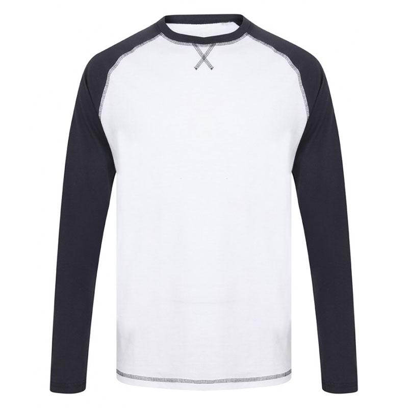 Front Row Long Sleeve Baseball T-Shirt