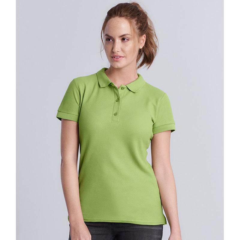 Gildan Ladies Premium Cotton® Double Piqué Polo Shirt