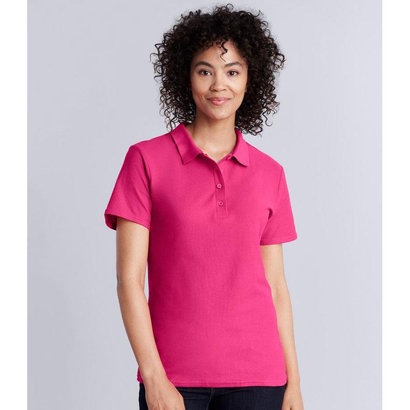 Gildan Ladies SoftStyle® Double Piqué Polo Shirt