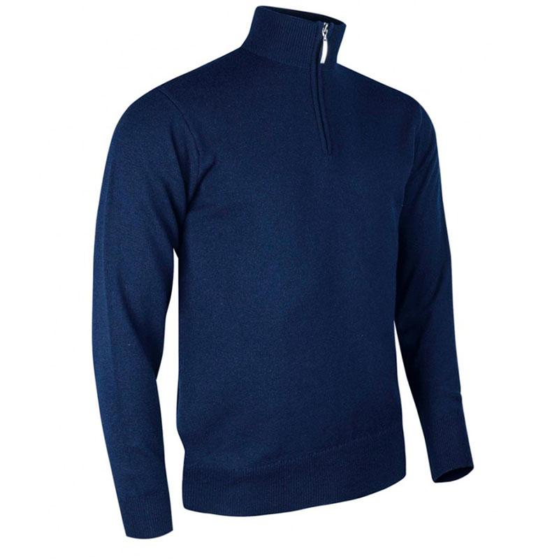 Glenmuir Zip Neck Lambswool Sweater