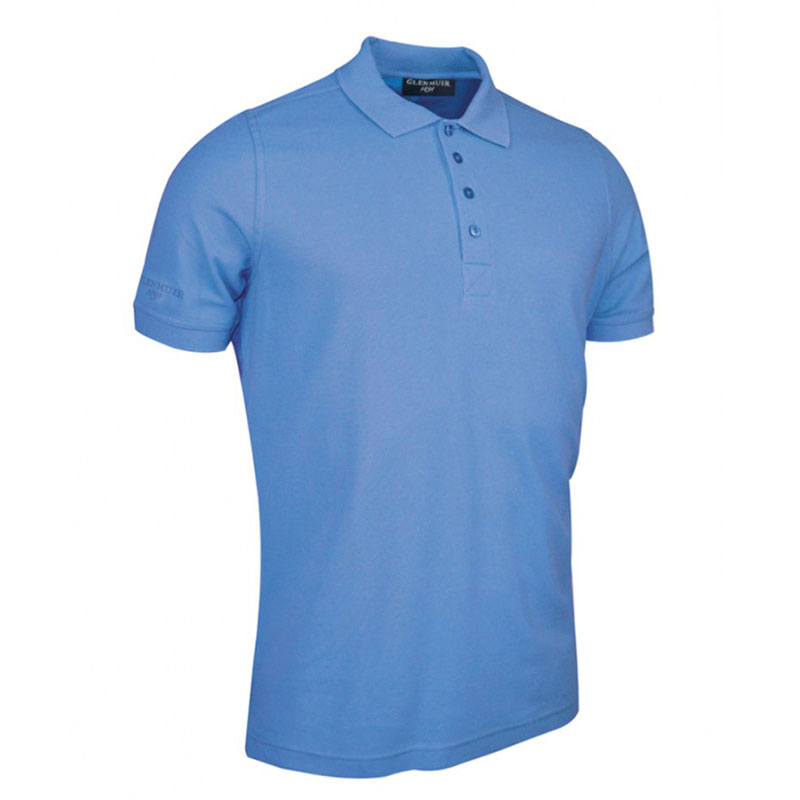 Glenmuir Classic Fit Piqué Polo Shirt