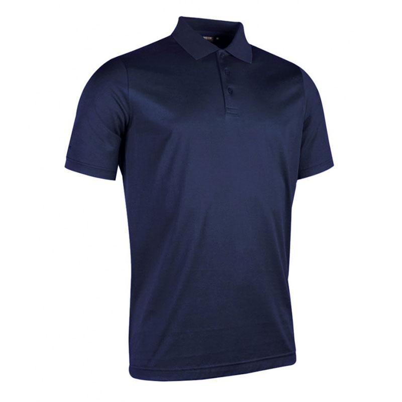 Glenmuir Plain Mercerised Polo Shirt
