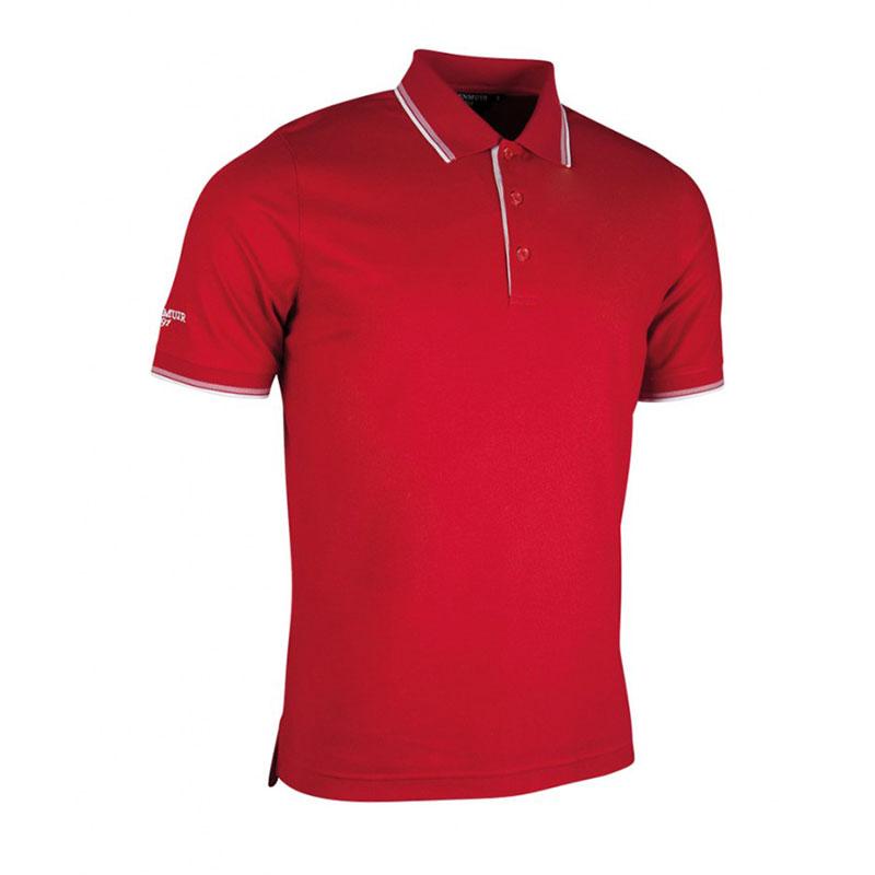 Glenmuir Tipped Piqué Polo Shirt