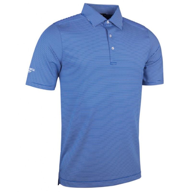 Glenmuir Micro Stripe Polo Shirt