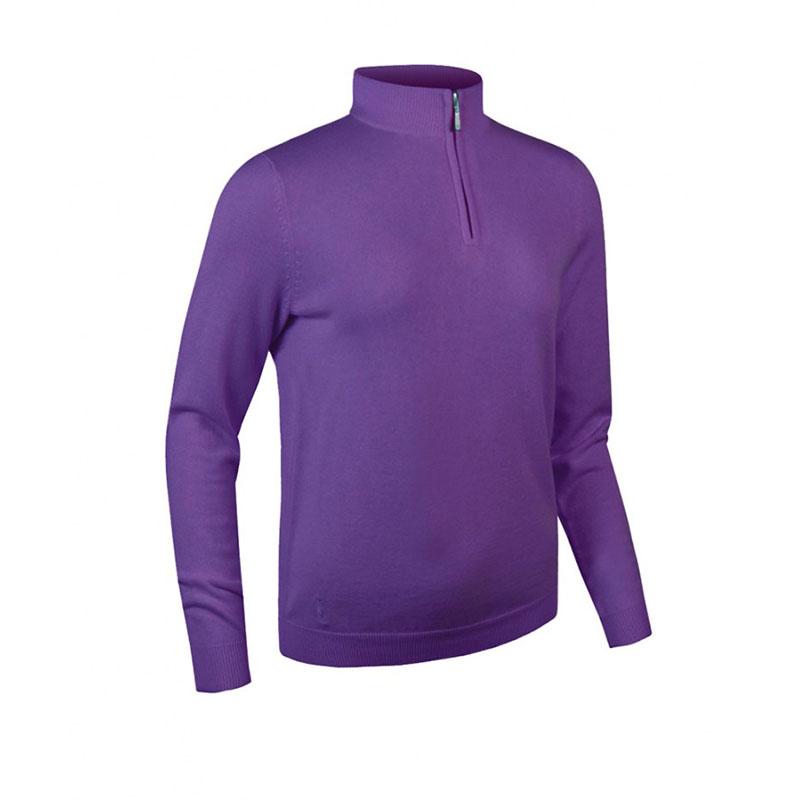 Glenmuir Ladies Zip Neck Sweater