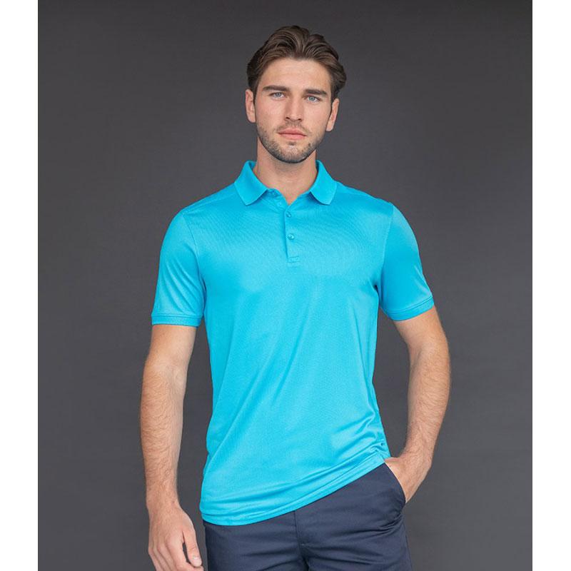 Henbury Slim Fit Stretch Microfine Piqué Polo Shirt