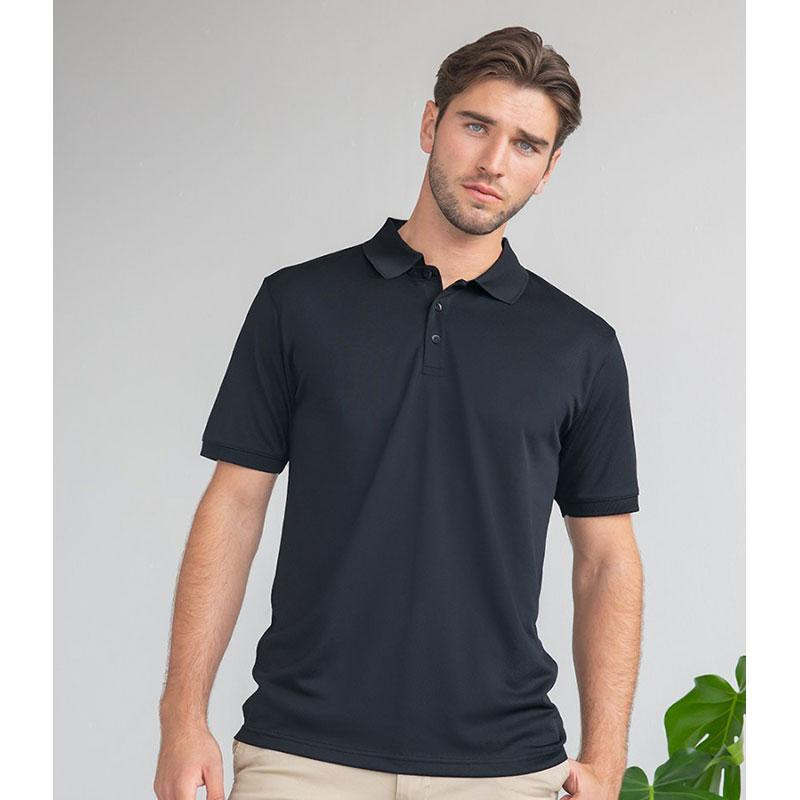 Henbury Recycled Polyester Piqué Polo Shirt
