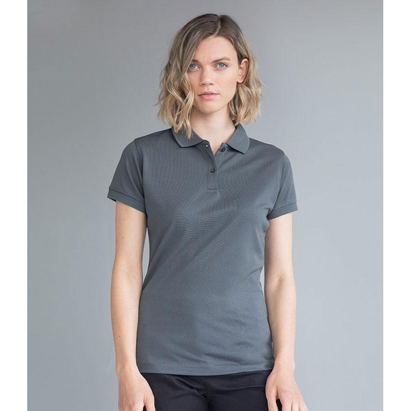 Henbury Ladies Coolplus® Wicking Piqué Polo Shirt